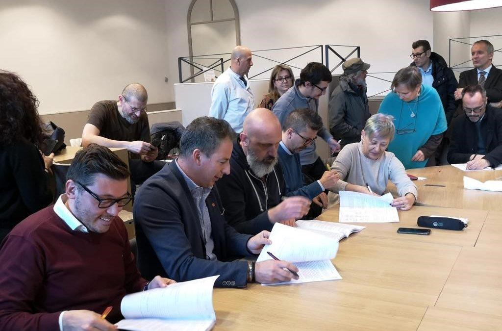 Prima volta in Brianza, Rovagnati, Cgil e Cisl firmano un protocollo per la contrattazione di sito
