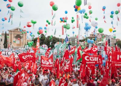 """Cgil Cisl e Uil, un presidio unitario per """"cambiare il modello sanitario regionale"""""""