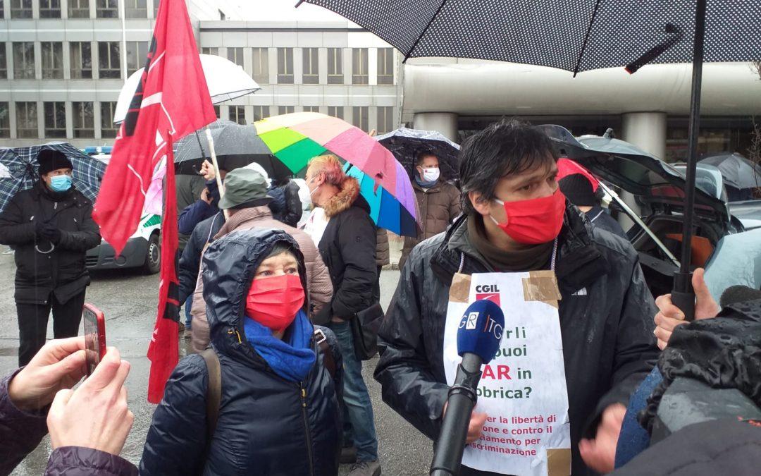 """Licenziamento STAR: ampia adesione allo sciopero e alla manifestazione. Flai Cgil MB: """"Licenziamento ingiusto"""""""