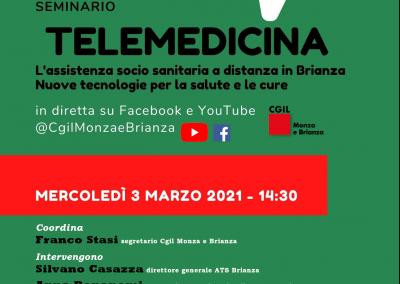 Telemedicina: l'assistenza socio sanitaria a distanza in Brianza. Nuove tecnologie per la salute e le cure