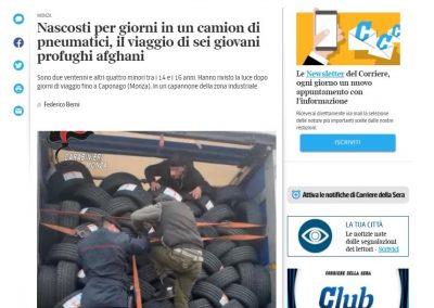 Migrazione. Dopo la notizia dei sei giovani afgani nascosti per giorni in un camion e transitati in Brianza