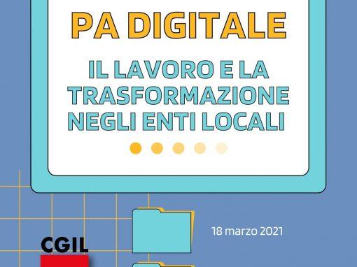 PA digitale, l'evento della Cgil di Monza e Brianza che parla di lavoro e della trasformazione negli enti locali