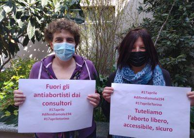 Fuori gli antiabortisti dai consultori!