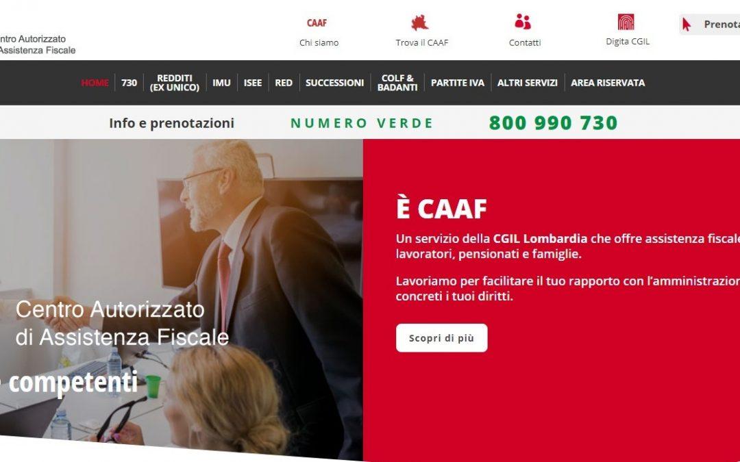 CAAF CGIL Monza e Brianza, al via la campagna informativa