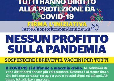 Nessun profitto sulla pandemia, Cgil, Cisl e Uil di Monza e Brianza sostengono l'iniziativa popolare
