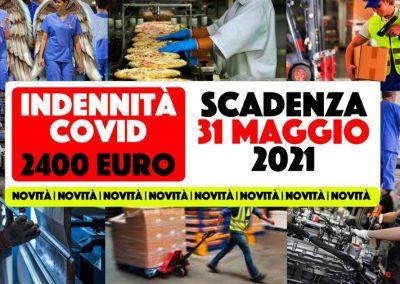 Novità, per i somministrati indennità Covid di 2400 euro