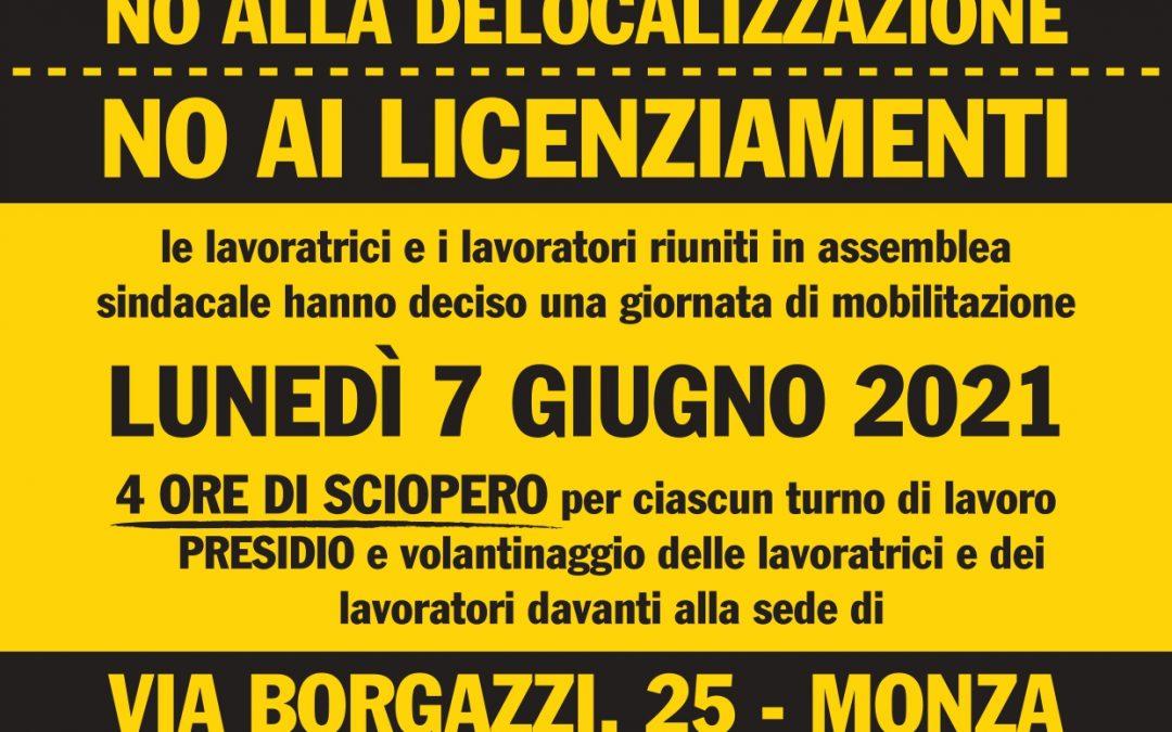 ADAC Monza, sciopero il 7 giugno per contrastare la delocalizzazione