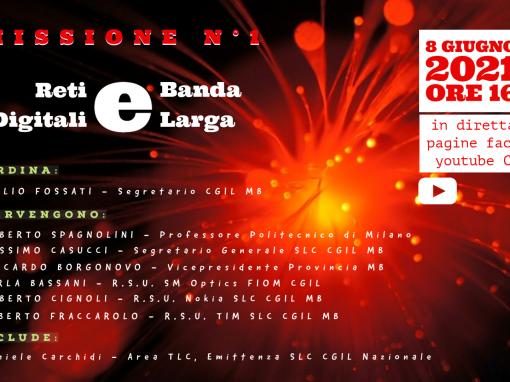 Missione N° 1 – Reti digitali e Banda larga