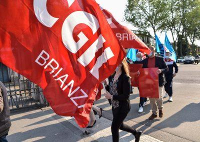 Manifestazione nazionale Cgil Cisl Uil a Torino, la Brianza è presente con una delegazione