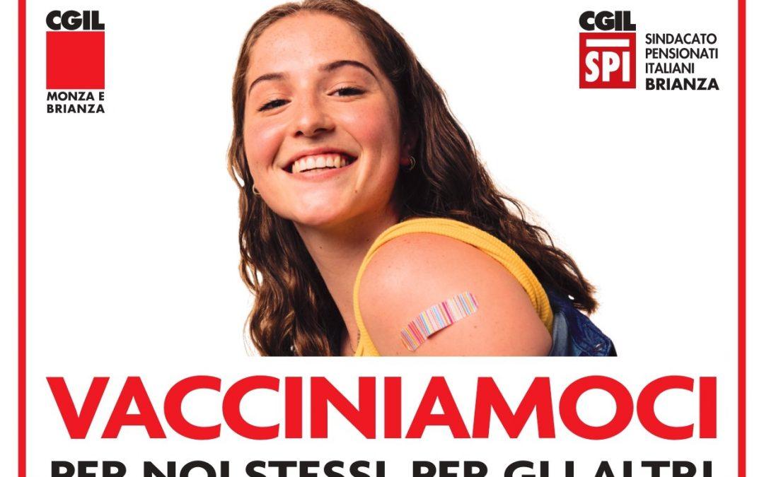 """""""Vacciniamoci!"""", al via la campagna di sensibilizzazione dello Spi e della Cgil di Monza e Brianza"""