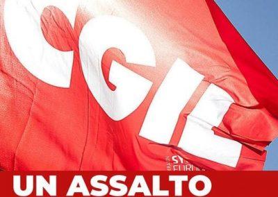 Ampia partecipazione al presidio di solidarietà in Cgil Monza e Brianza