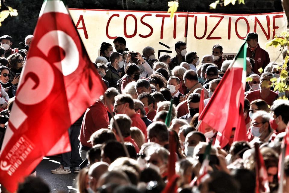 """Sabato 16 ottobre appuntamento a Roma """"in difesa della democrazia"""": da Monza in partenza una folta delegazione Cgil Cisl e Uil"""